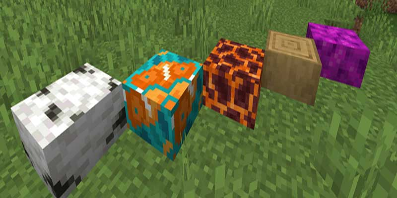 there's may unlimited block shapes, and textures for you to have a lot of fun testing out