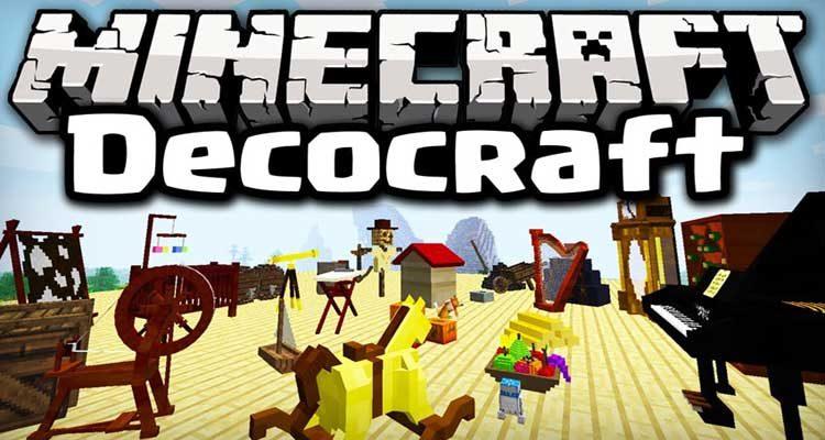 DecoCraft Mod 1.12.2/1.11.2 For Minecraft