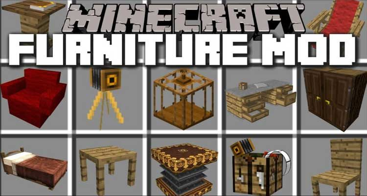 MrCrayfish's Furniture Mod 1.14.4/1.12.2 For Minecraft