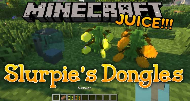 Slurpie's Dongles Mod 1.15.1/1.14.4 (Too Many New Things)