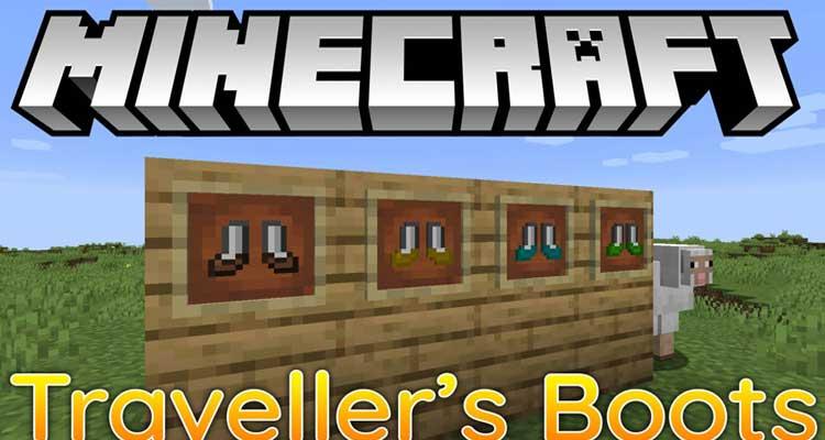 Traveller's Boots Mod 1.15.1/1.14.4