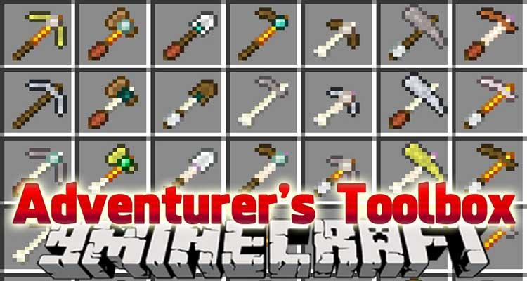 Adventurer's Toolbox Mod 1.12.2/1.11.2