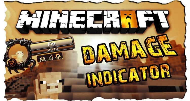 Damage Indicators Mod 1.14.4/1.12.2