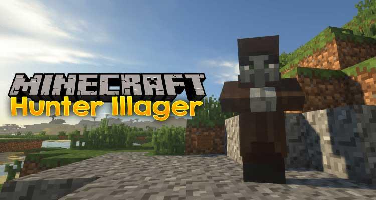 Hunter Illager Mod 1.15.2/1.14.4