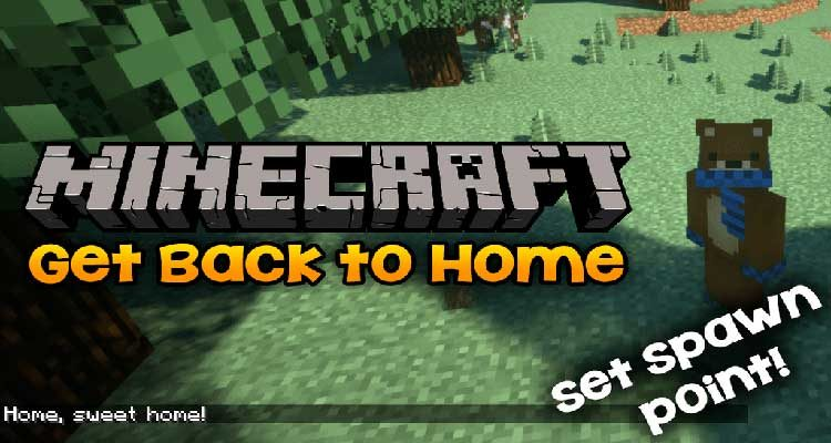 Get Back To Home Mod 1.13.2/1.12.2