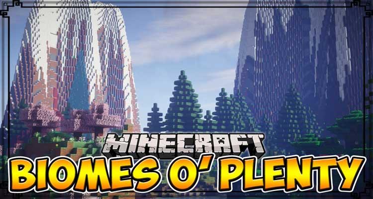 Biomes O' Plenty Mod 1.14.4/1.12.2