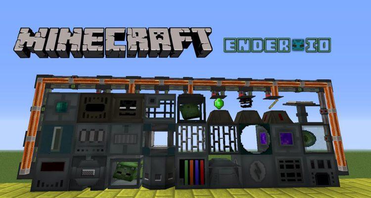 Ender IO Mod 1.12.2/1.10.2 (Compact Conduits, Machines)