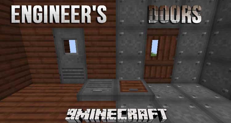 Engineer's Doors Mod 1.12.2