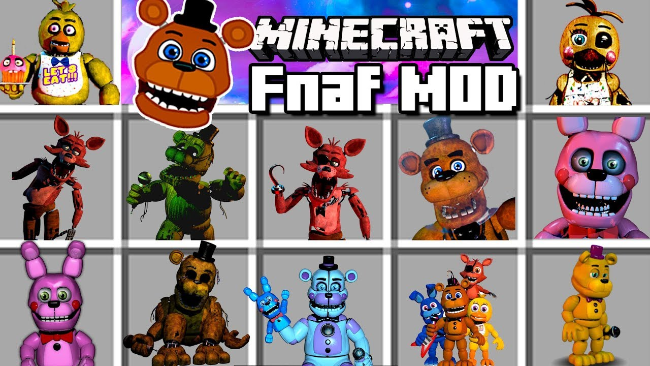 Five Nights At Freddy S Reborn Mod 1 12 2 1 7 10 Planet Minecraft Mods