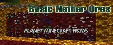 Basic Nether Ores Mod 1.14.4/1.12.2