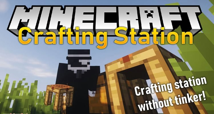 Crafting Station Mod 1.15.2/1.14.4 (Crafting Station without Tinkers; Construct)