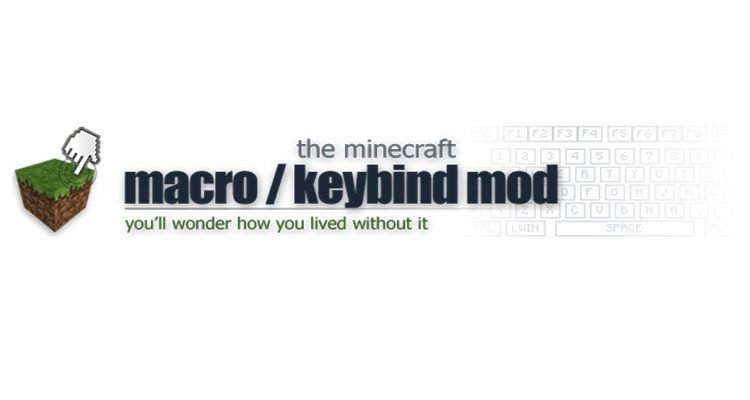 Macro/Keybind Mod 1.12.2/1.11.2 (Bind Commands to Keyboard Keys)