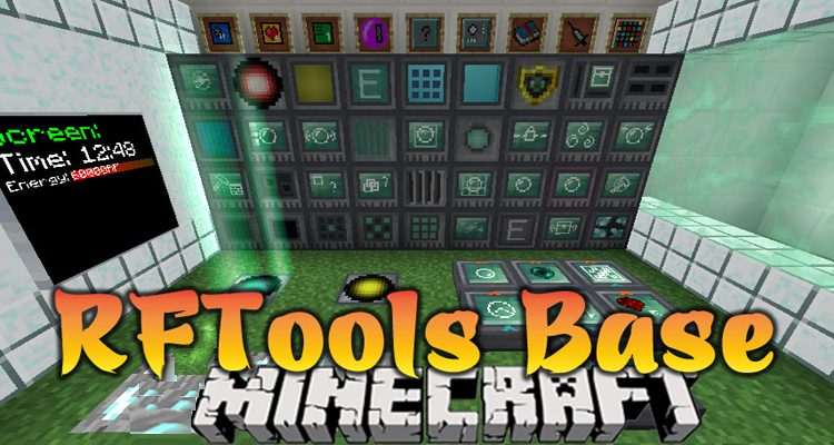 RFTools Base Mod 1.15.2/1.14.4 (Library for McJty's Mods)