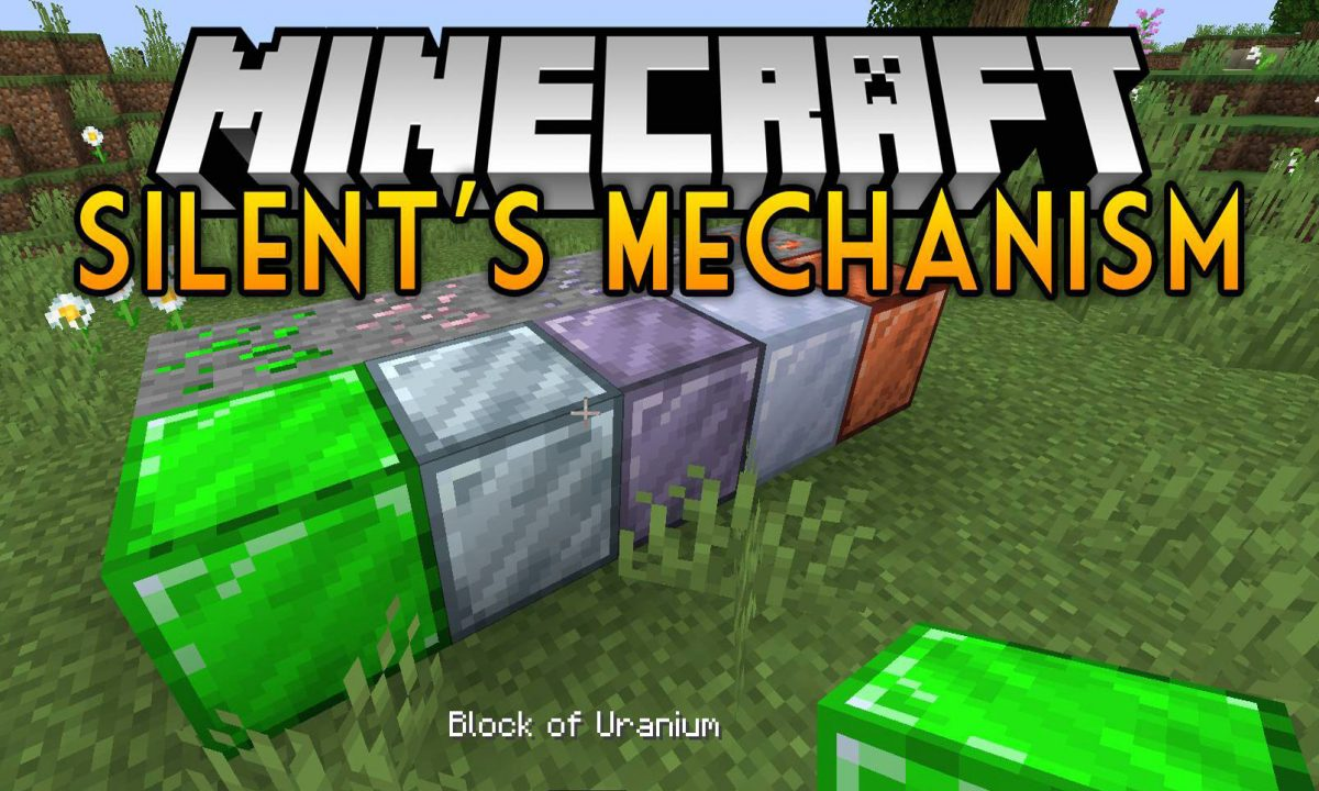 Silent's Mechanisms Mod 1.15.2/1.14.4 (Simple Machines that Run on Forge Energy)
