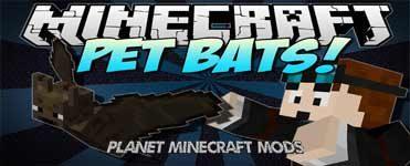 Pet Bat Mod 1.14.4/1.12.2