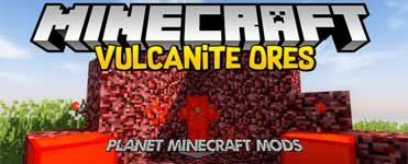Vulcanite Ore Mod 1.13.2/1.12.2