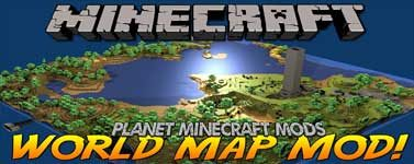 Xaero's World Map Mod 1.14.4/1.12.2