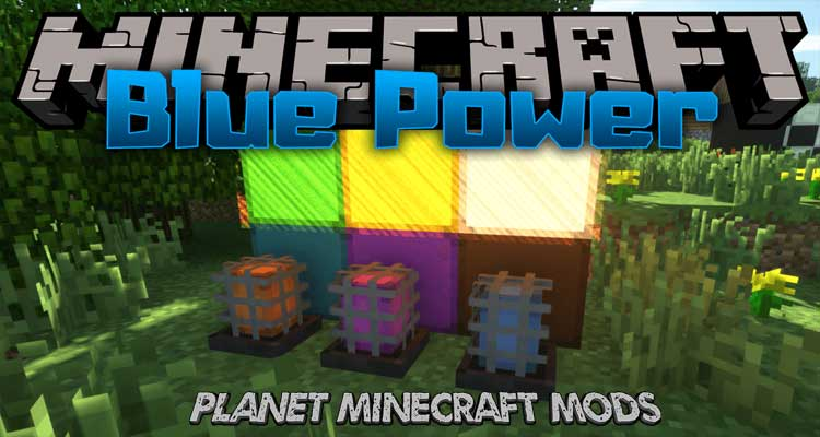 Blue Power Mod 1.14.4/1.12.2