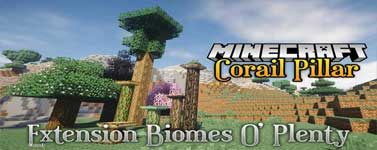 Corail Pillar – Extension Biomes O'Plenty Mod 1.14.4/1.12.2
