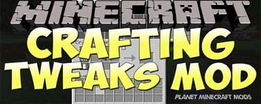 Crafting Tweaks Mod 1.14.4/1.12.2 (Rotate, Balance, Clear)