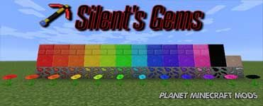 Silents Gems Mod 1.14.4/1.12.2 (Tools and Colorful Building Blocks)