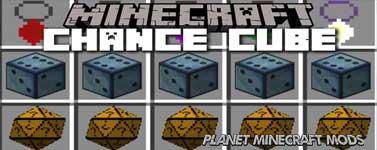 Chance Cubes Mod 1.14.4/1.12.2 (Lucky or UnLucky)