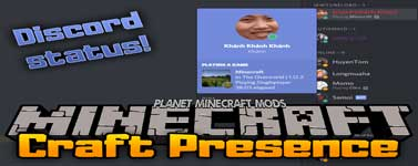 Craft Presence Mod 1.14.4/1.12.2 (Discord Status!)