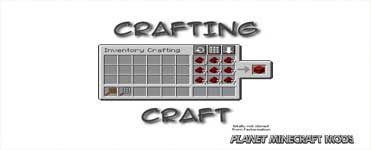 CraftingCraft Mod 1.14.4/1.12.2