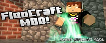 Floocraft Mod 1.14.4/1.12.2 (Harry Potter Teleportation)