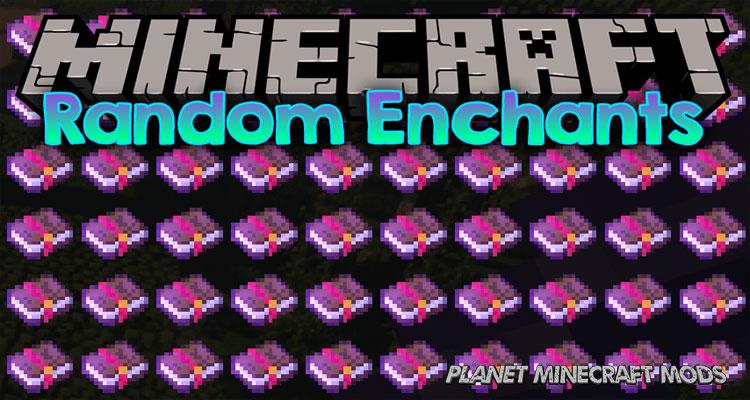 Random Enchants Mod 1.14.4/1.12.2