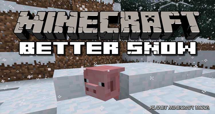 Snow Accumulation Mod 1.14.4/1.12.2