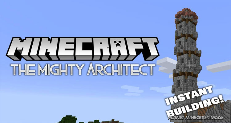 The Mighty Architect Mod 1.14.4/1.12.2