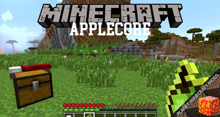 AppleCore Mod 1.12.2/1.10.2/1.7.10