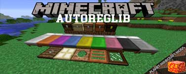 AutoRegLib Mod 1.16.4/1.12.2/1.10.2