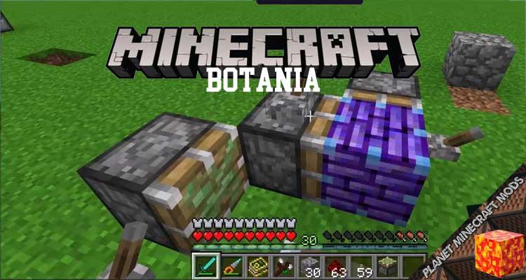 Botania Mod 1.16.4/1.12.2/1.10.2/1.7.10
