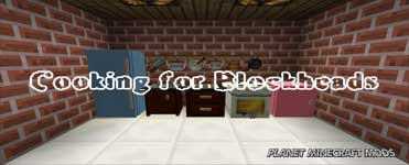 Cooking for Blockheads Mod 1.16.5/1.12.2/1.7.10