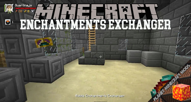 Enchantments Exchanger Mod 1.14.4/1.12.2
