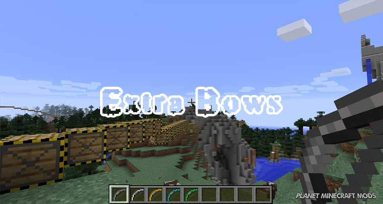 Extra Bows Mod 1.14.4/1.12.2