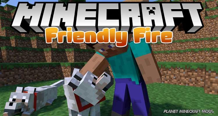 Friendly Fire Mod 1.14.4/1.12.2