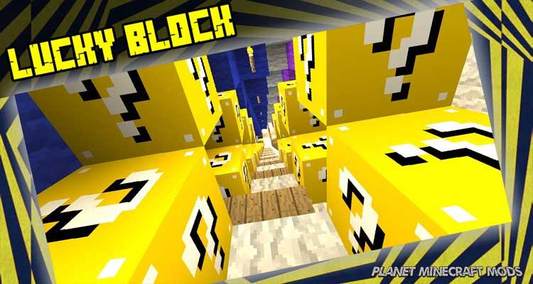 Lucky Block Mod 1.14.4/1.12.2