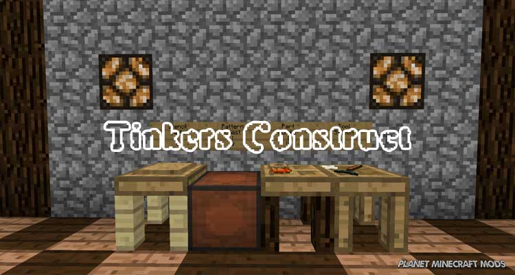 Tinkers Construct Mod 1.12.2/1.10.2/1.7.10