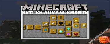 Better Advancements Mod 1.16.4/1.15.2/1.12.2