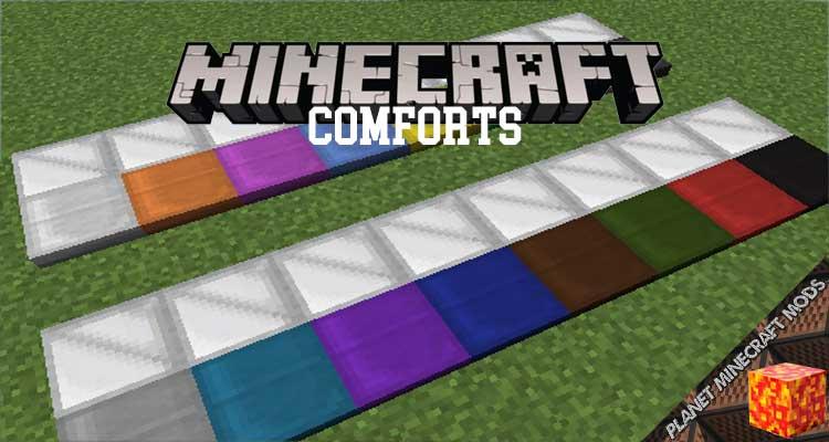 Comforts Mod 1.16.4/1.15.2/1.12.2