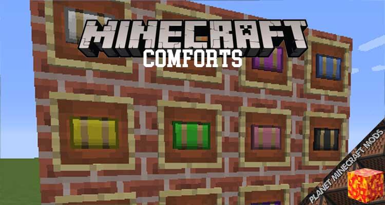 Comforts Mod 1.13.2/1.12.2