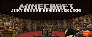 Just Enough Resources (JER) Mod 1.16.4/1.12.2/1.10.2