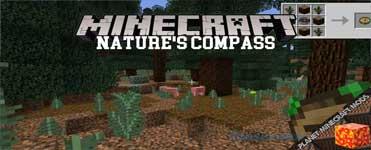 Nature's Compass Mod 1.16.3/1.12.2/1.7.10