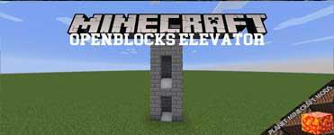 OpenBlocks Elevator Mod 1.16.4/1.12.2/1.10.2