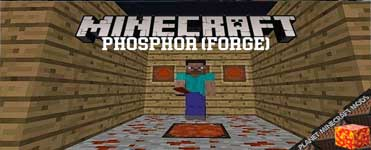 Phosphor (Forge) Mod 1.15.2/1.12.2