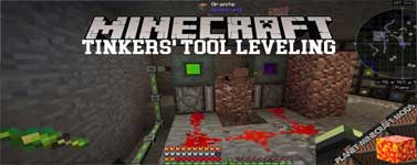 Tinkers' Tool Leveling Mod 1.12.2/1.11.2/1.10.2