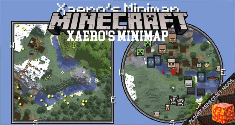 Xaero's Minimap Mod 1.16.5/1.12.2/1.10.2
